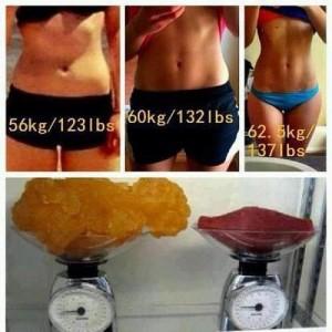 ayni kilo farklı kas kütlesi